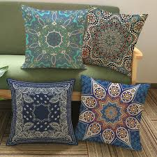 ethnic floor cushions. Delighful Ethnic Thailand Decorative Cushion Cover Meditation Pillow Ethnic Buddism Floor  Cushion Boho Mandala Pillow To Cushions