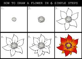 Small Picture how to draw dahlia flower Google Search Drawing Pinterest