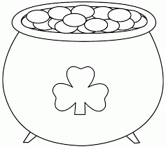 Small Picture Pot Of Gold Coloring Pages Clipart Panda Free Clipart Images