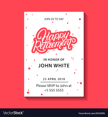 Invitation Cards Designs For Retirement Party Retirement Party Invitation