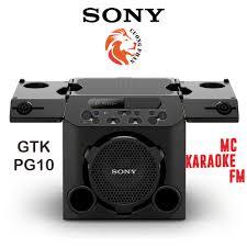 Loa Nghe Nhạc Hát Karaoke Công Suất Lớn SONY GTK-PG10 - Tặng Balo Sony  Extra Bass