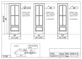1121x800 custom made doors custom wood doors custom glass doors wooden door drawing
