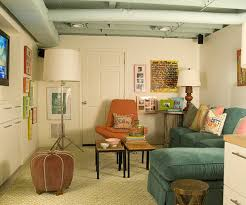 Basement Living Rooms Creative Best Decorating Design