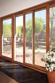 wood sliding patio doors. Photo From The Marvin Windows And Doors Gallery : For Living Room  Kitchen, To Minimize Lines Wood Sliding Patio Doors