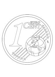 Eurol Kleurplaat Malvorlage 1 Cent Ausmalbild 27221 Kleurplatenlcom