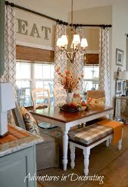 Long Curtains In Kitchen 17 Best Ideas About Breakfast Nook Curtains On Pinterest
