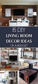 Diy Living Room Ideas