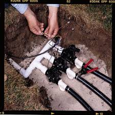 how to install a sprinkler system installing an underground how to install your own sprinkler system