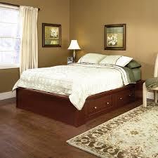 Sauder® Palladia Select Cherry Queen Platform Bed at Menards®