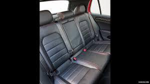 2016 volkswagen golf gti mk7 us spec leather interior rear seats wallpaper