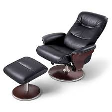 reclining leather chair ottoman. reclining leather chair ottoman