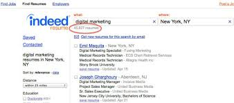 ... Resume Example, Indeed Marketing Search How To Use Indeed Resume Search  Indeed Resume Search Advanced ...