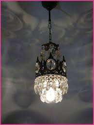 mini chandelier for bathroom lovely vintage brass and crystal small basket chandelier