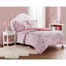 paris girl 3 piece pink c blush twin comforter set