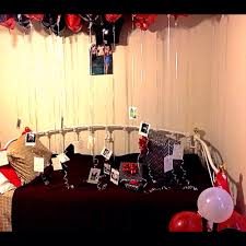 room decoration for birthday of boyfriend image inspiration of