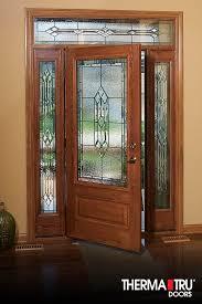 panel fiberglass exterior door