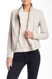 image of vince lambskin leather scuba jacket