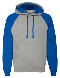 Jerzees Hoodie Size Chart Jerzees Nublend Adult Colorblocked Hooded Sweatshirt