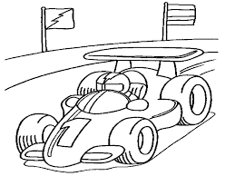 Small Picture Race car coloring pages printable