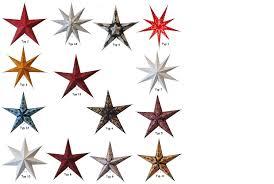 Weihnachten Papier Leuchtstern Hängend Ohne Kabel Auswahl