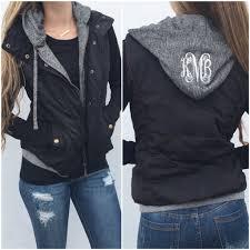 Monogram Quinn Quilted Hoodie Vest – I Love Jewelry & Monogram Quinn Quilted Hoodie Vest; Monogram Quinn Quilted Hoodie Vest ... Adamdwight.com