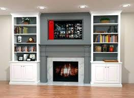 fireplace with built ins around next to ideas in bookcase storage shelves decorating free plans cost