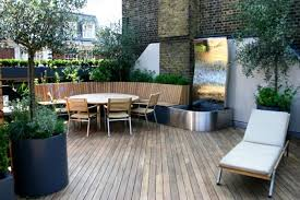 Roof Terrace Refreshing Deck Design