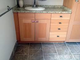Lovely Ikea Kitchen Made Into U0027customu0027 Bathroom Vanity Idea
