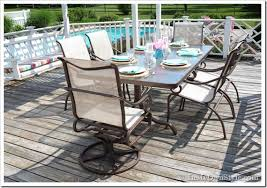 Innovative Patio Furniture Sling Back Chairs How To Paint Outdoor