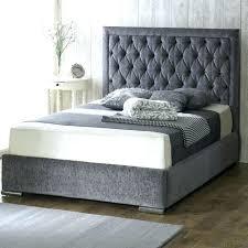 diy upholstered bed. Upholstered King Bed Frame Chenille Fabric . Diy R