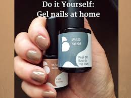 diy gel nails at home belle gel rapide gel nail kit