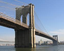 Who Designed The Brooklyn Bridge Brooklyn Bridge Simple English Wikipedia The Free