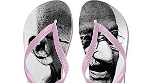After flag incident, slippers with Mahatma Gandhi image now on ...