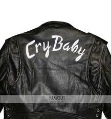 johnny depp wade walker cry baby biker leather jacket