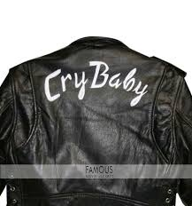 johnny depp wade walker cry baby biker leather jacket