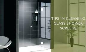 clean glass shower doors cleaning glass shower screens can you clean glass shower doors with vinegar
