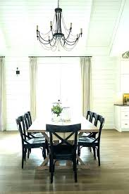rustic dining lighting chandelier meval candle with innovative room farmhouse