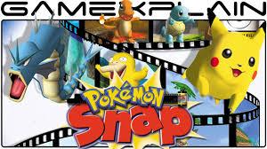 Pokémon Snap - Game & Watch (Wii U Virtual Console) - YouTube