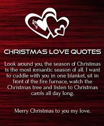 Christmas Quotes About Love Inspiration Merry Christmas Love Quotes 48 For Her Him Quotes Square