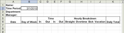 timesheet calculator with lunch excel timesheet calculator step 3 enter employee dates times