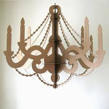 inspirational cardboard chandeliers for decoration at a party large cardboard for cardboard chandelier