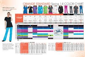 Koi Orange Standard Color And Size Chart Shop At Pella