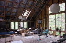 Office barn Small Work Desk In The Barn Loft Ad Systems The Home Office Livemodern Your Best Modern Home