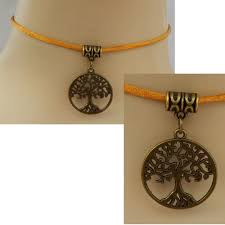 details about tree of life choker necklace pendant gold celtic handmade chain women fashion
