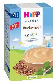 BỘT ĂN DẶM HIPP Bột sữa Kiều mạch cho bé từ 4m | Bột, cháo ăn dặm