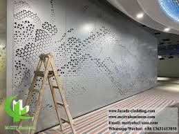 interior metal screen perforation
