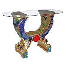 Design Toscano Egyptian Wings Of Horus Grand Altar Console Table Design Toscano Egyptian Wings Of Horus Altar Grand Console Walmart Com