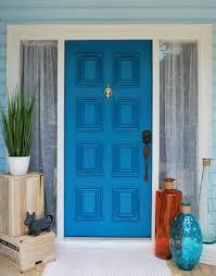 turquoise front doorhow to paint your front door  Modern Masters Cafe Blog