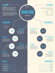 Simplistic Yet Eyecatching Modern Resume Cv Curriculum Vitae