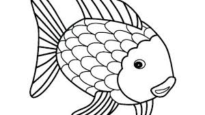 Fish Colouring Pages Printable Coloring Page One Fish Two Fish Red